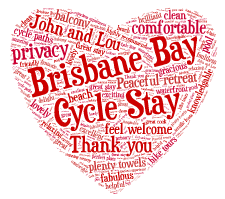 Brisbane Bay Cycle Stay Most Loved Reviews